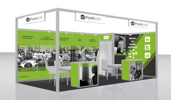 Parklab - Graphics for pre-assembled stands