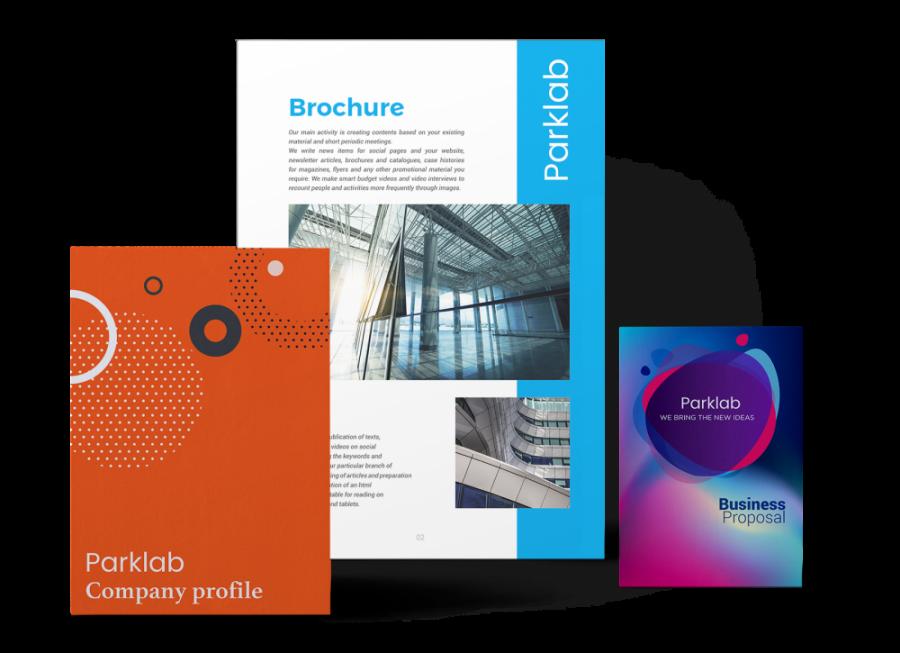 Flyer brochure aziendale cataloghi